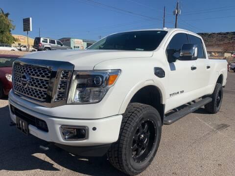 2017 Nissan Titan XD for sale at Car Works in Saint George UT