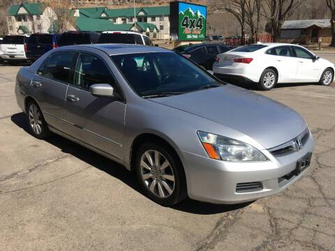2007 Honda Accord for sale at 4X4 Auto in Cortez CO