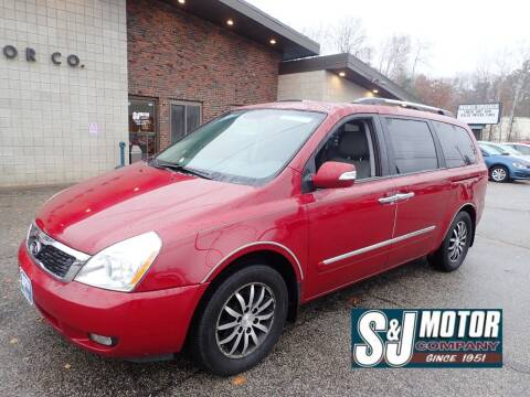 2012 Kia Sedona for sale at S & J Motor Co Inc. in Merrimack NH