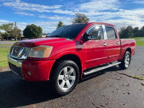 2009 Nissan Titan for sale at COUNTRYSIDE AUTO SALES 2 in Russellville KY