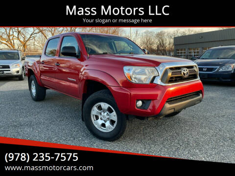 2014 Toyota Tacoma for sale at Mass Motors LLC in Worcester MA