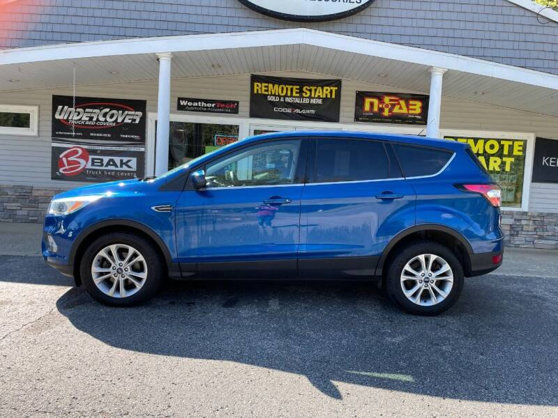 2017 Ford Escape for sale at Stans Auto Sales in Wayland MI
