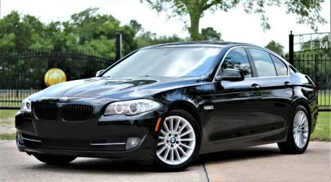2013 BMW 5 Series for sale at Texas Auto Corporation in Houston TX