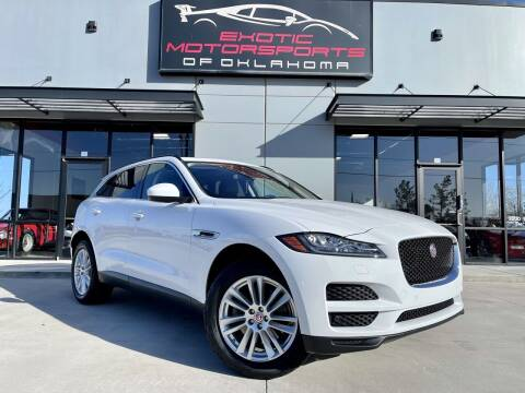 2017 Jaguar F-PACE for sale at Exotic Motorsports of Oklahoma in Edmond OK