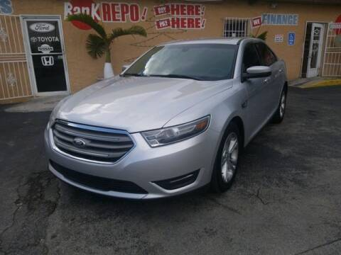 2015 Ford Taurus for sale at VALDO AUTO SALES in Miami FL