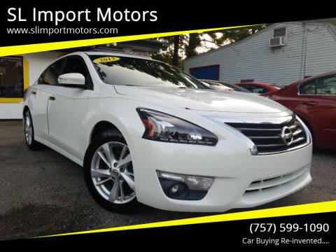 2013 Nissan Altima for sale at SL Import Motors in Newport News VA