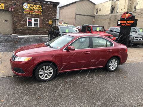 2010 Kia Optima for sale at STEEL TOWN PRE OWNED AUTO SALES in Weirton WV