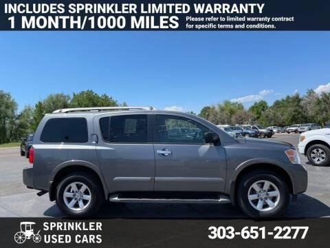 2015 Nissan Armada for sale at Sprinkler Used Cars in Longmont CO