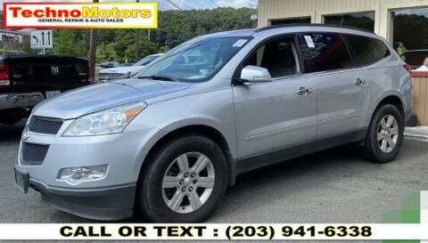 2010 Chevrolet Traverse for sale at Techno Motors in Danbury CT