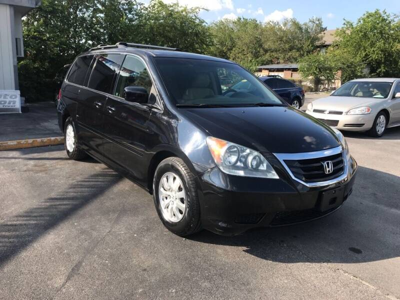 2008 Honda Odyssey for sale at Auto Solution in San Antonio TX
