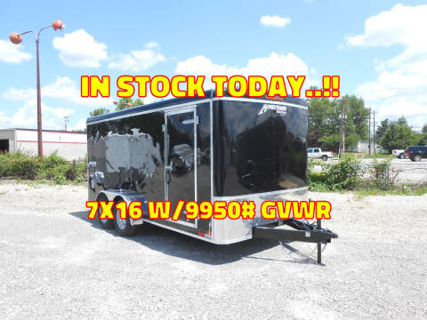 2021 Homesteader Hercules 7x16 Black for sale at Jerry Moody Auto Mart - Trailers in Jeffersontown KY