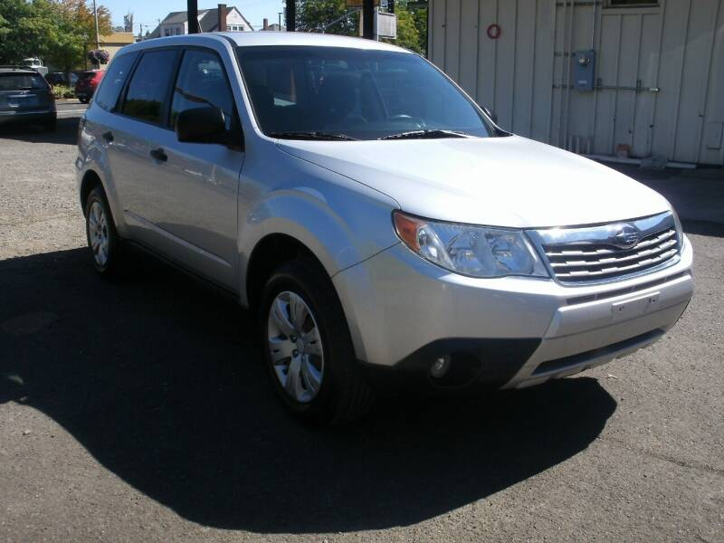 2010 Subaru Forester for sale at D & M Auto Sales in Corvallis OR