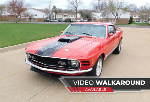1970 Ford Mustang for sale at WEST PORT AUTO CENTER INC in Fenton MO