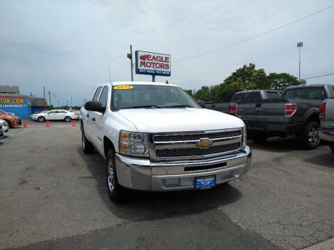 2013 Chevrolet Silverado 1500 for sale at Eagle Motors in Hamilton OH