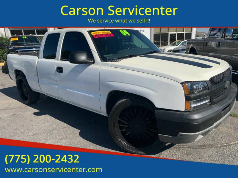 2004 Chevrolet Silverado 1500 for sale at Carson Servicenter in Carson City NV