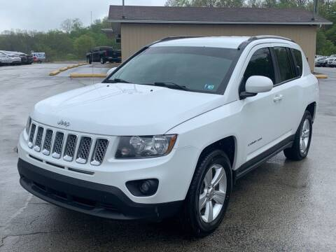 2015 Jeep Compass for sale at Elite Motors in Uniontown PA