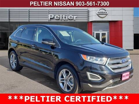 2018 Ford Edge for sale at TEX TYLER Autos Cars Trucks SUV Sales in Tyler TX