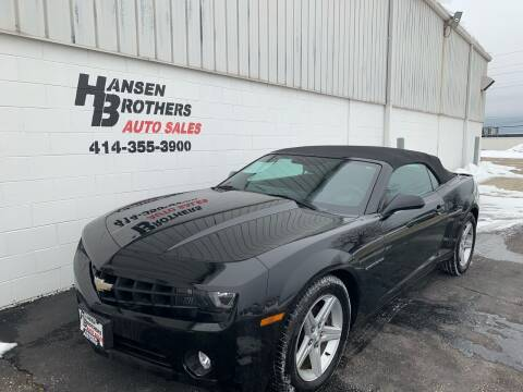 2012 Chevrolet Camaro for sale at HANSEN BROTHERS AUTO SALES in Milwaukee WI