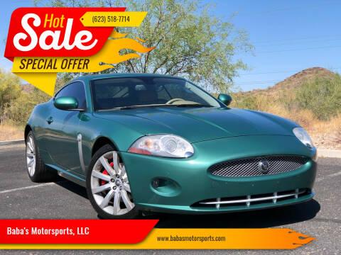 2009 Jaguar XK for sale at Baba's Motorsports, LLC in Phoenix AZ