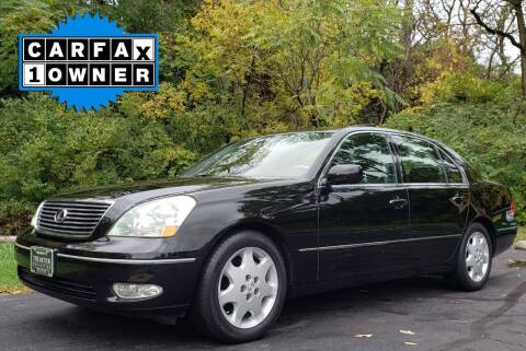 2002 Lexus LS 430 for sale at The Motor Collection in Columbus OH