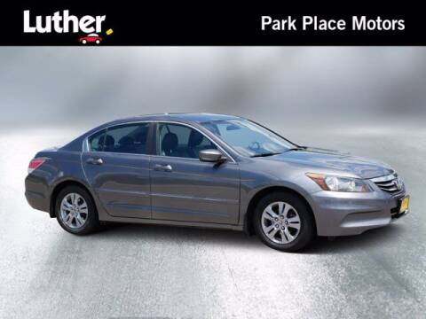 2012 Honda Accord for sale at Park Place Motor Cars in Rochester MN