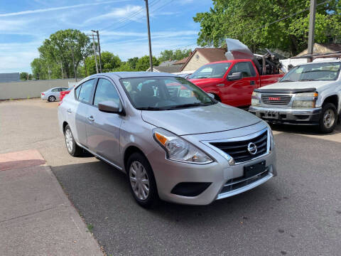 2019 Nissan Versa for sale at Nice Cars Auto Inc in Minneapolis MN
