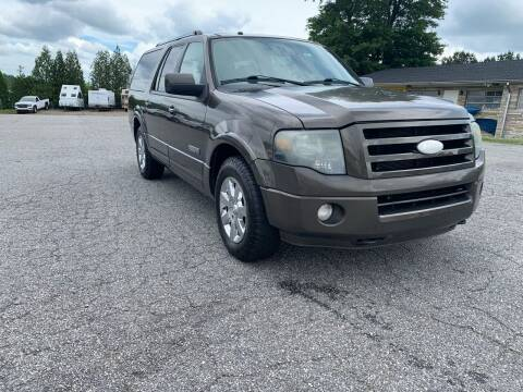 2008 Ford Expedition EL for sale at Hillside Motors Inc. in Hickory NC