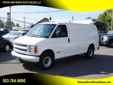 1999 Chevrolet Express Cargo for sale at Steve & Sons Auto Sales in Happy Valley OR