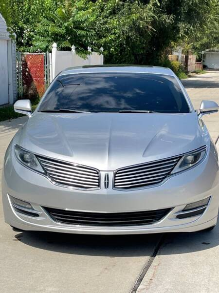 2013 Lincoln MKZ for sale at Suburban Auto Sales LLC in Madison Heights MI