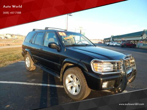 2003 Nissan Pathfinder for sale at Auto World in Carbondale IL