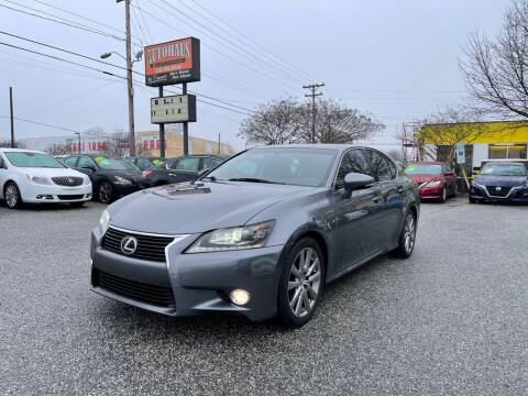 2013 Lexus GS 350 for sale at Autohaus of Greensboro in Greensboro NC