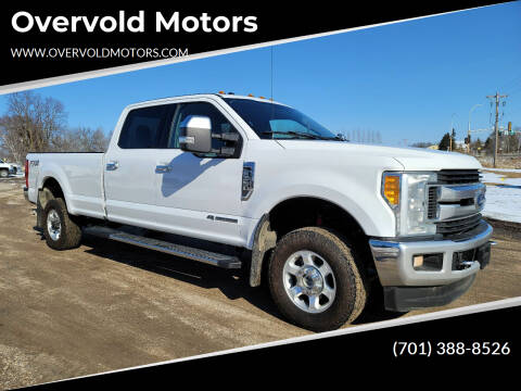 2017 Ford F-350 Super Duty for sale at Overvold Motors in Detriot Lakes MN