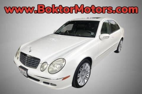 2006 Mercedes-Benz E-Class for sale at Boktor Motors in North Hollywood CA