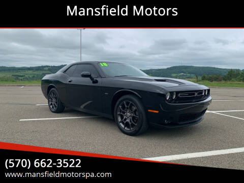 2018 Dodge Challenger for sale at Mansfield Motors in Mansfield PA