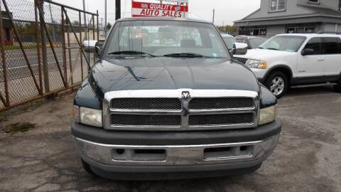 1996 Dodge Ram Pickup 1500 for sale at QUALITY AUTO SALES OF NEW YORK in Medford NY