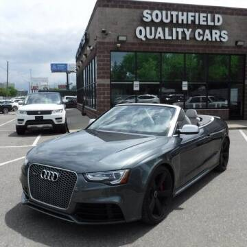2015 Audi RS 5 for sale at SOUTHFIELD QUALITY CARS in Detroit MI