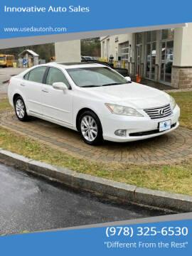 2011 Lexus ES 350 for sale at Innovative Auto Sales in North Hampton NH