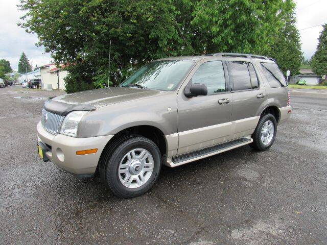 2004 Mercury Mountaineer for sale at Triple C Auto Brokers in Washougal WA
