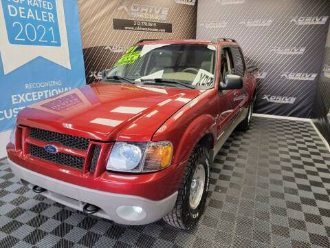 2001 Ford Explorer Sport Trac for sale at X Drive Auto Sales Inc. in Dearborn Heights MI