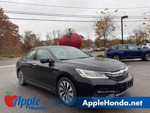 2017 Honda Accord Hybrid for sale at APPLE HONDA in Riverhead NY