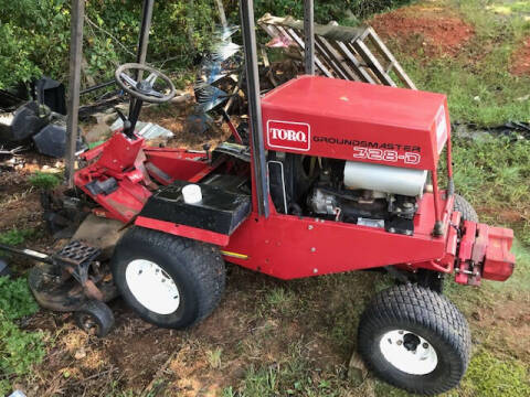 2002 Toro 328 Groundsmaster for sale at Mathews Turf Equipment in Hickory NC