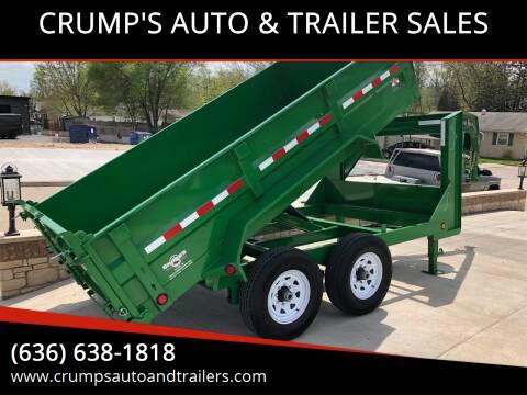 2019 PJ Gooseneck Dump Trailer for sale at CRUMP'S AUTO & TRAILER SALES in Crystal City MO