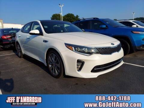 2018 Kia Optima for sale at Jeff D'Ambrosio Auto Group in Downingtown PA