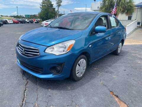 2018 Mitsubishi Mirage G4 for sale at Sun Coast City Auto Sales in Mobile AL
