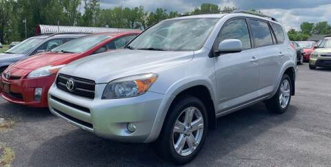 2008 Toyota RAV4 for sale at Paul Hiltbrand Auto Sales LTD in Cicero NY