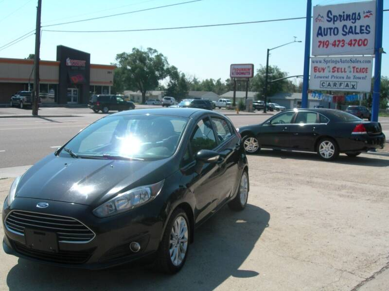 2014 Ford Fiesta for sale at Springs Auto Sales in Colorado Springs CO