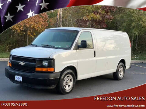 2004 Chevrolet Express Cargo for sale at Freedom Auto Sales in Chantilly VA