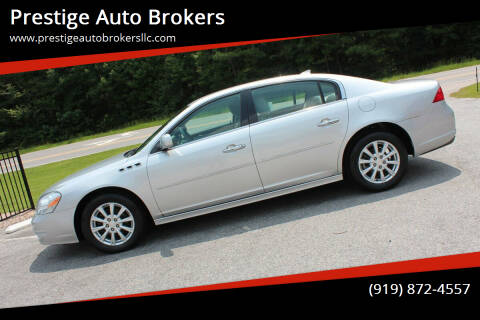 2010 Buick Lucerne for sale at Prestige Auto Brokers in Raleigh NC