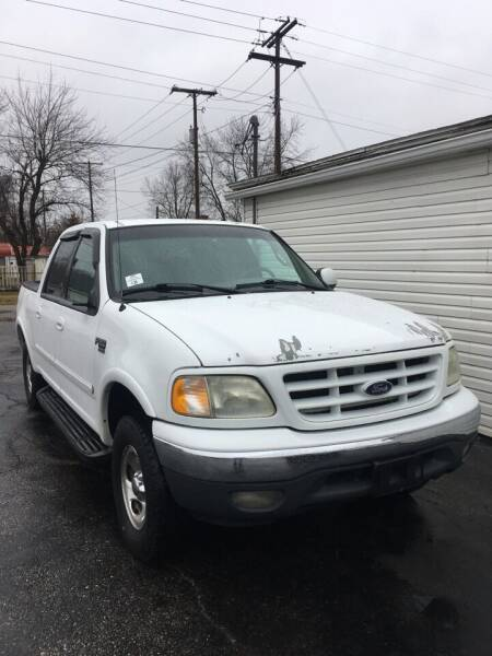 2002 Ford F-150 for sale at Mike Hunter Auto Sales in Terre Haute IN