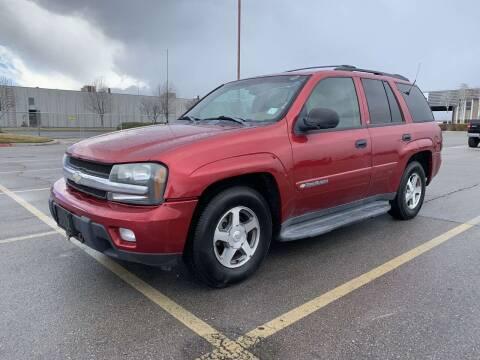 2003 Chevrolet TrailBlazer for sale at BELOW BOOK AUTO SALES in Idaho Falls ID